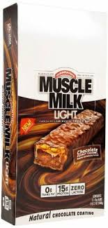 muscle milk light bars shooting muscle milks give me strength caign lighting