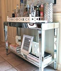 entrance table and mirror mirrored foyer table best foyer table decor ideas on console within
