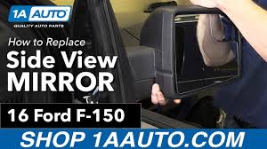 ford f150 replacement mirror how to replace install side view mirror 16 ford f 150