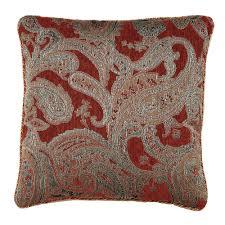 Paisley Home Decor Valentina Paisley Claret Comforter Bedding By Croscill
