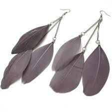 feather earrings online india funky stud fashion earrings cool ear cuffs vintage handmade