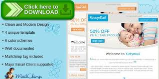 free nulled kittymail newsletter template download