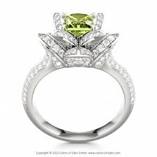 peridot engagement ring best 25 peridot engagement rings ideas on peridot