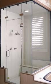 Frameless Steam Shower Doors Shower Custom Steam Shower Design Ideas Doors In Quincy Mass