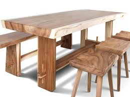 wood slab table legs live edge slab solid wood table with asymmetric slab legs for sale