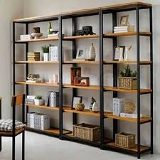 Wooden Shelf Building by Best 25 Industrial Bookshelf Ideas On Pinterest Pipe Bookshelf