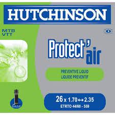 chambre a air velo anti crevaison hutchinson protect air chambre à air vélo tout terrain 26 pouces