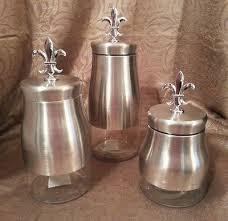 dillards kitchen canisters fleur de lis canisters home furniture design kitchenagenda com