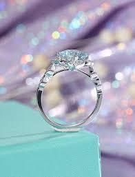 gold vintage engagement rings aquamarine engagement ring white gold antique engagement ring