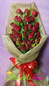 Dozen Roses Philgifts Com Rose Bouquet For Philippines Delivery