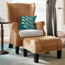 santino wing chair with cushion grandin road