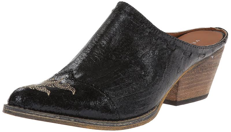 Very Volatile Daytons Clogs Mules,Black,8.5