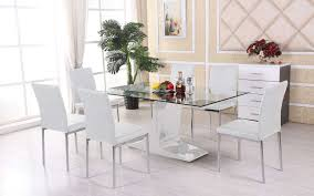 White Dining Room Furniture Sets Buy 6 Seater Wooden Glass Dining Sets Dining Room