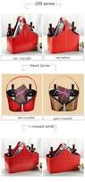 wholesale supplies small size empty gift basket leather flower red