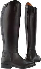 saxon equileather dress boots for horse riding jeffers pet