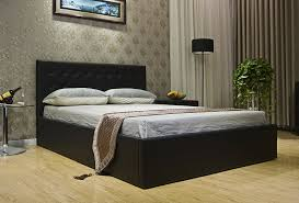 Full Storage Beds Amazon Com Greatime Bs1111 2 Eastern King Black Leatherette