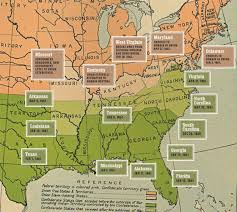 Map Of The United States During The Civil War by States Of The Pseudo Confederacy Civil War Trust