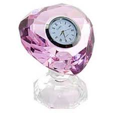 Small Glass Desk Clock China Crystal Table Desk Clock Manufacturers Suppliers Factory