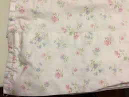 simply shabby chic candy pink floral twin flat sheet dainty white