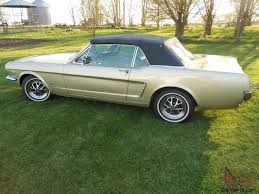 1965 mustang convertible for sale ebay ford mustang convertible original unrestored a code 4 speed