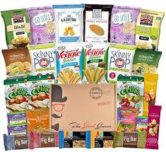 food care packages non gmo and healthy snacks care package 27 count world