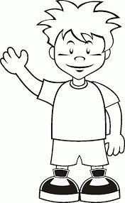 Little Boy Coloring Pages Ebcs 23a2f52d70e3 Boy Color Pages
