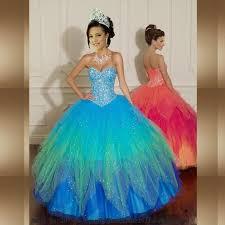 quinceanera dresses 2016 rainbow quinceanera dresses oasis fashion