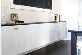 cuisine blanc laqu ikea console laqu blanc awesome buffet design blanc laqubois portes et