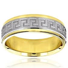 wedding band recommendations mens 14k yellow gold midweight comfort fit 5mm wedding band free