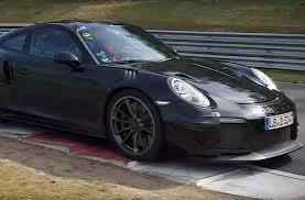 porsche 911 gt2 rs and chevrolet corvette zr1 spied on nurburgring