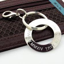 personalized jewelry for men 28 best personalized keychains custom engraved leather key chain