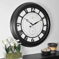 large wall clock large wall clocks you ll love wayfair