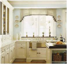 kitchen creamy brown curtain beautiful kitchen curtain ideas