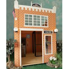 playhouses for boys childrens backyard police station lilliput