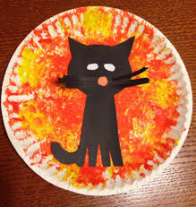 toddler cat halloween craft halloween pinterest cat craft