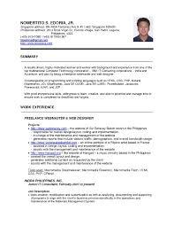 Sample Resume Template Word Sample Resume Resumecom Standard Resume Examples Resume Format