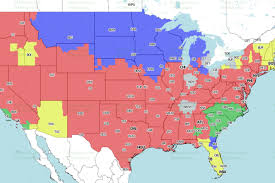 Map Of Jacksonville Florida by Jaguars Vs Vikings Week 14 Tv Viewing Map On Fox Big Cat Country