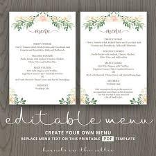 25 cute menu card template ideas on pinterest fast business