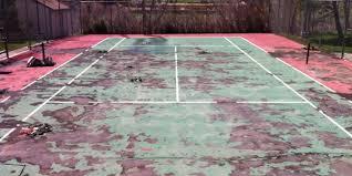 Backyard Tennis Courts by Colorado Tennis Court Repair And Resurfacing