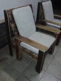 Wooden Accent Chair How To Build Wooden Pallet Chairs Pallet Furniture