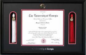 tassel frame tassel embossed diploma frame uga tassel diploma