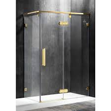Az Shower Doors Anzzi Sultan 55 51 In X 78 74 In Semi Frameless Corner Hinged