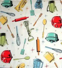 Fabric For Kitchen Curtains Fabric For Kitchen Curtains Or Retro Kitchen Fabric By On Custom