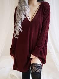 maroon sweaters kristi knitted oversized sweater dress maroon tops i want