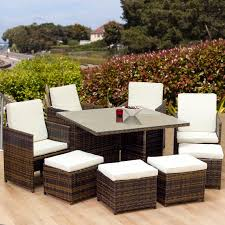 oseasons cube 8 seater dining set
