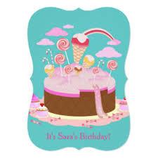chocolate birthday party invitations u0026 announcements zazzle
