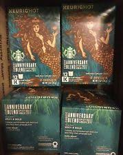 starbucks anniversary blend 2017 k cup 72 counts ebay