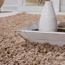 Schlafzimmer Teppich Taupe Shaggy Teppich Hochflor Langflor Wohnzimmer Teppiche Xxl Uni Braun