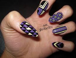 purple nail designs