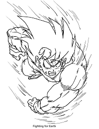 coloring page dragon ball z coloring pages 22